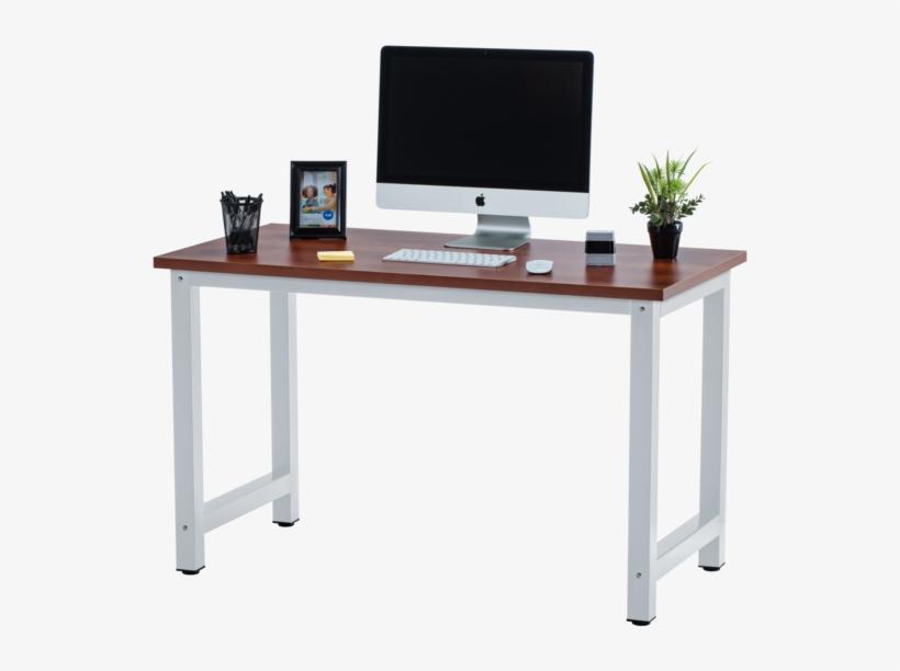 Fineboard Stylish Home Office Computer Desk Writing - Transparent Background Desk Png, transparent png #9521296