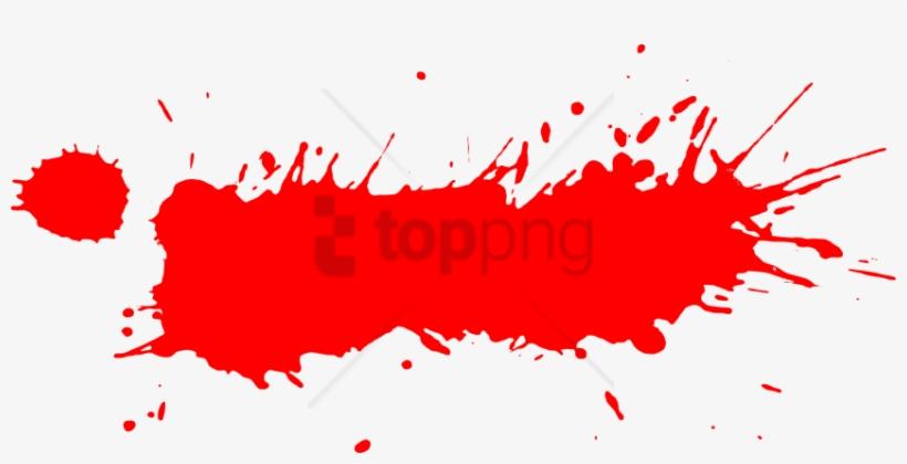 Free Png Download Red Paint Splash Png Png Images Background - Red Paint Splatter Png, transparent png #9529278