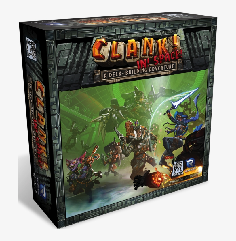 There's Still So Much To Cover Deeper Into The Galaxy - Clank In Space Board Game, transparent png #9530497