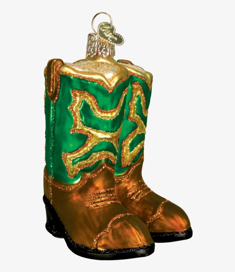 Cowboy Boots Ornament - Cowboy Boot, transparent png #9532927