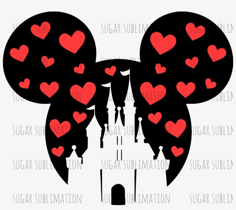 Disney - Castle - Mickey- Minnie - Sublimation Transfer - Disney World Castle Shirt, transparent png #9533214