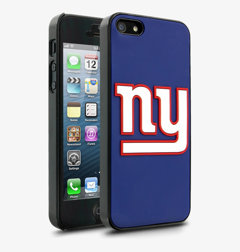 Nfl New York Giants Hard Case With Logo For Apple Iphone - Green Bay Packers Phone Case Iphone 5se, transparent png #9533525