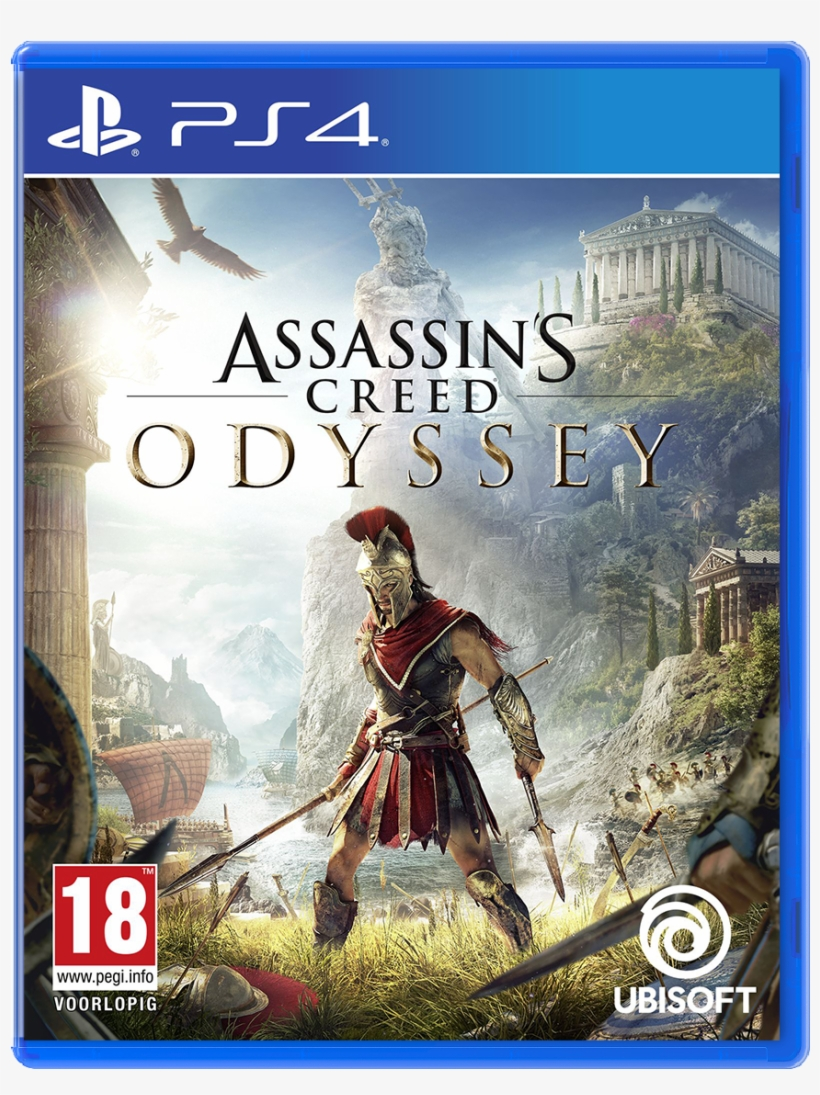 Assassin's Creed Odyssey - Assassin's Creed Odyssey Ps4, transparent png #9535988
