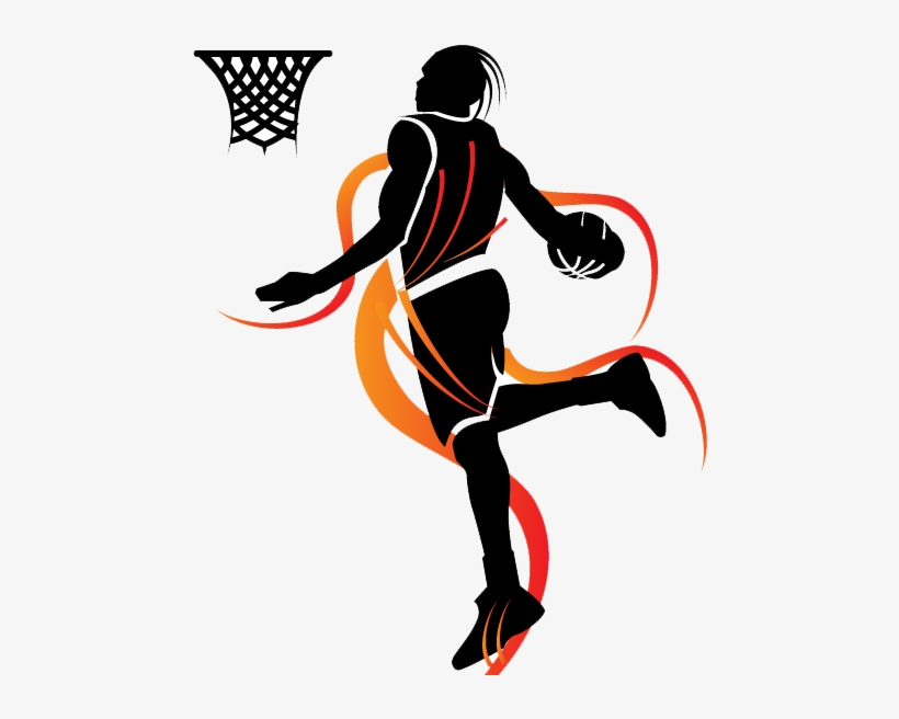 Remember Ee 287 Slam Dunk Basketball Vector - Basketball Vector, transparent png #9537027