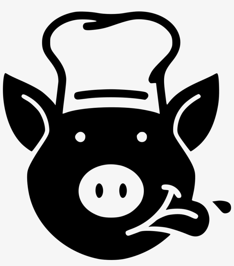 Collection Of Free Download On Ubisafe Chef - Clip Art Pig In Chef Hat, transparent png #9539434