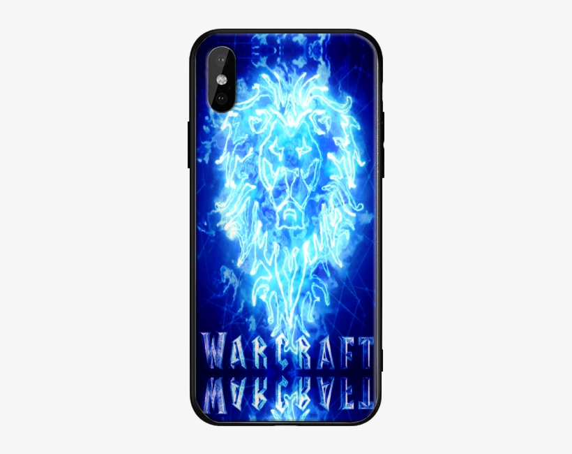 World Of Warcraft Tempered Glass Phone Case - Mobile Phone Case, transparent png #9549384