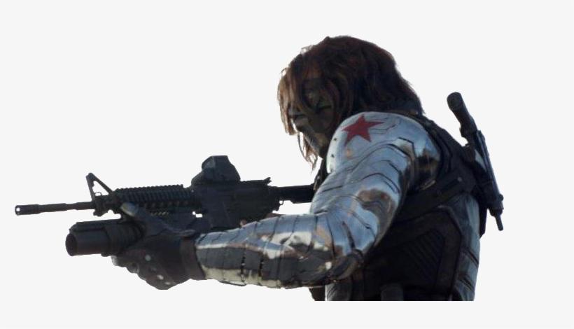 Transparent Winter Soldier - Rocket Raccoon Winter Soldier Arm, transparent png #9552635