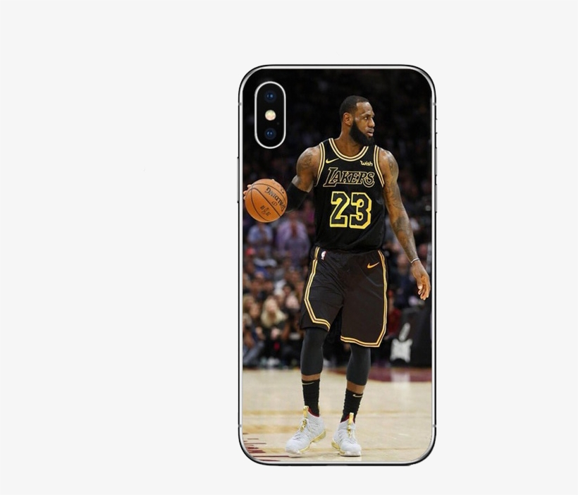 Coque Pour Iphone De Lebron James Balle En Main Avec - Fond D Écran Lebron James Lakers, transparent png #9556415