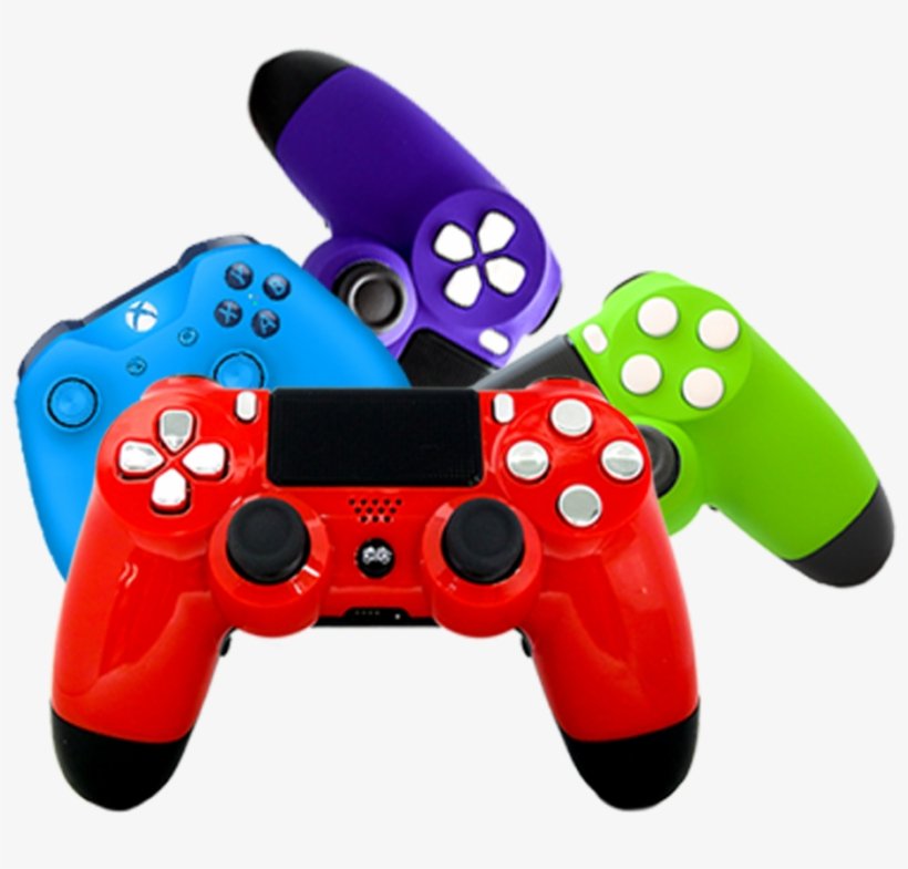 Receive Your New Custom Cinch Controller - Game Controller, transparent png #9558830