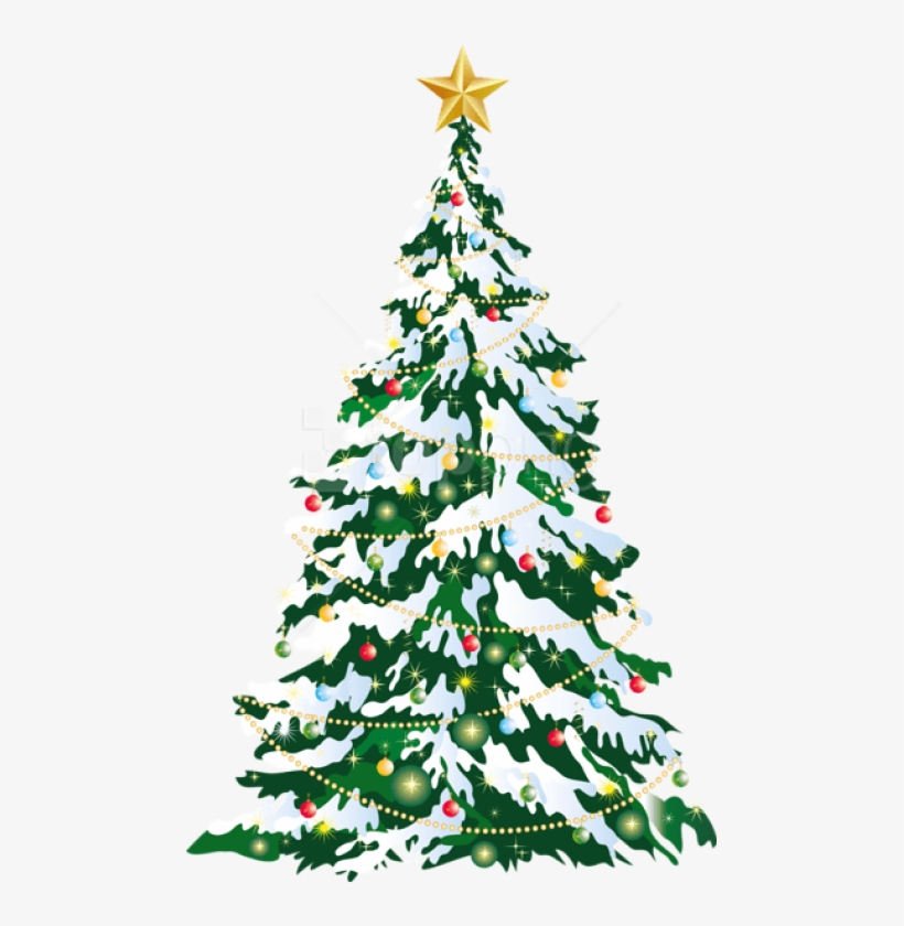 Free Png Large Deco Christmas Tree Art Png Images Transparent - Christmas Tree Png Large, transparent png #9559596