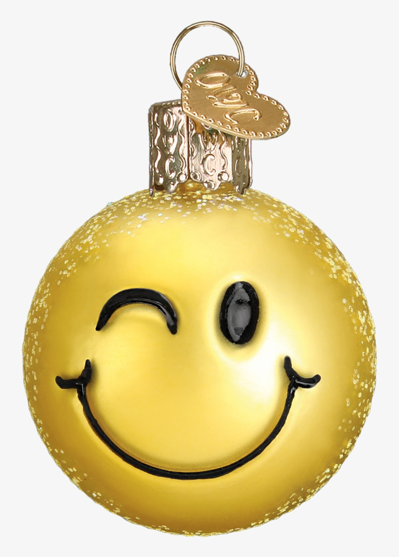 Mini Emoji Ornament Set Old World Christmas Free