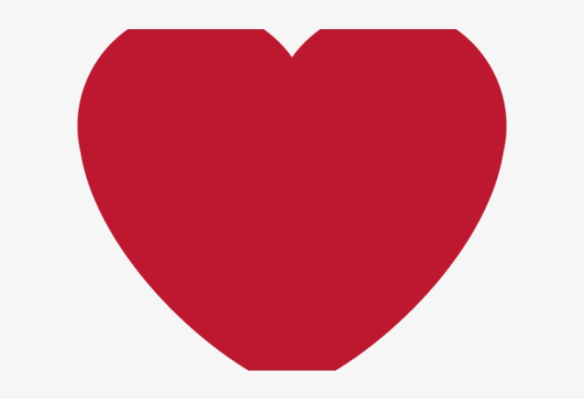 Instagram Clipart Red Heart - Heart Symbols Of Love, transparent png #9560529