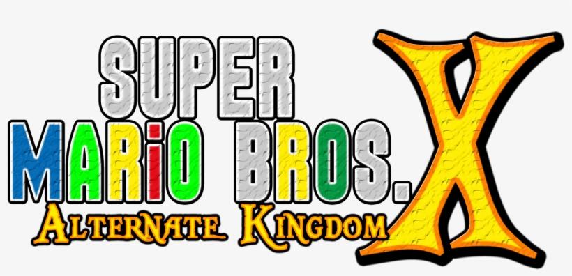 Alternative Kingdom Logo By Asylusgoji91 - New Super Mario Bros, transparent png #9561601