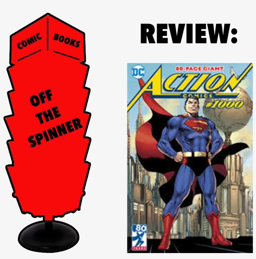 Superman Action Comics 1000, transparent png #9563479