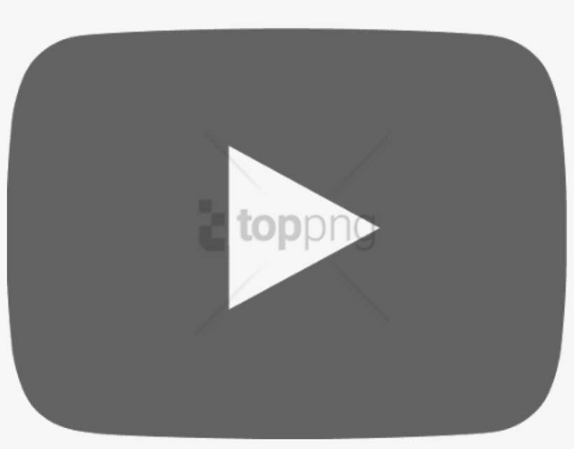 Free Png Download Youtube Play Logo Svg Png Images - Youtube Play Button Black, transparent png #9564888
