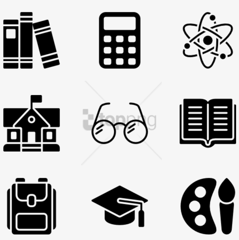 Free Png Back To School 30 Icons - Iconos Back To School, transparent png #9565235