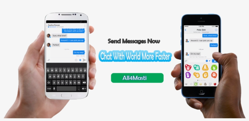 Whatsapp Chat Room Free Online For Live Chat - Facebook Messenger Smartphone, transparent png #9576467