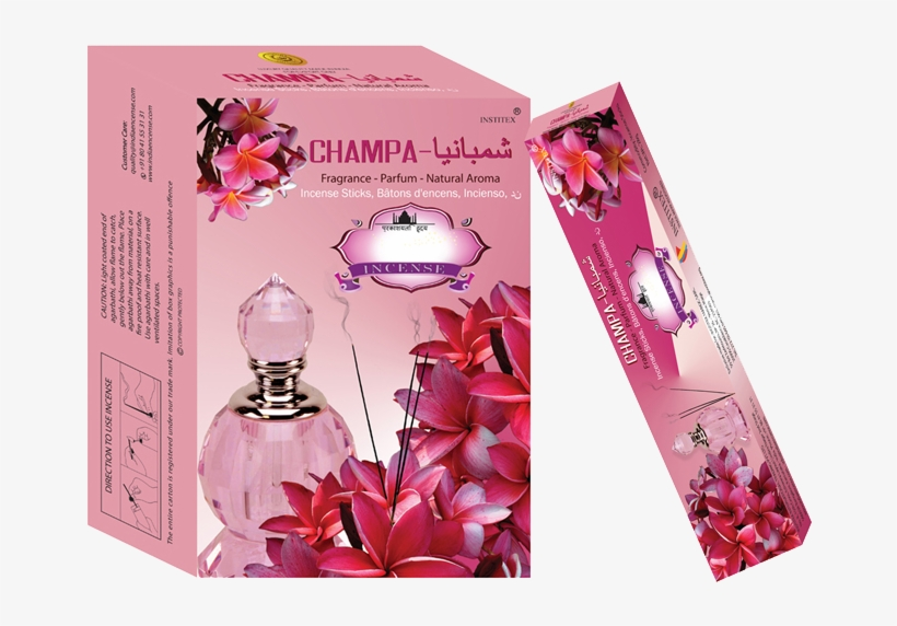 Champa Organic Perfume Is A Wonderfull Floral Fragrance - Rose, transparent png #9577430