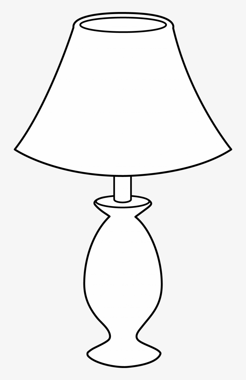 Lamp Clipart Table Pencil And In Color Lamps At Lowes - Table Lamp Pencil Drawing, transparent png #9578619