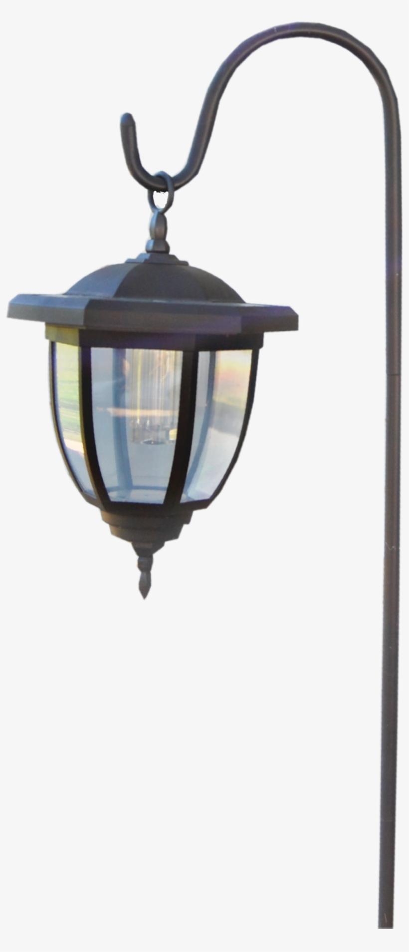 #lantern #light #lighting #ironrod #pole #styling #accessory - Street Light, transparent png #9579396