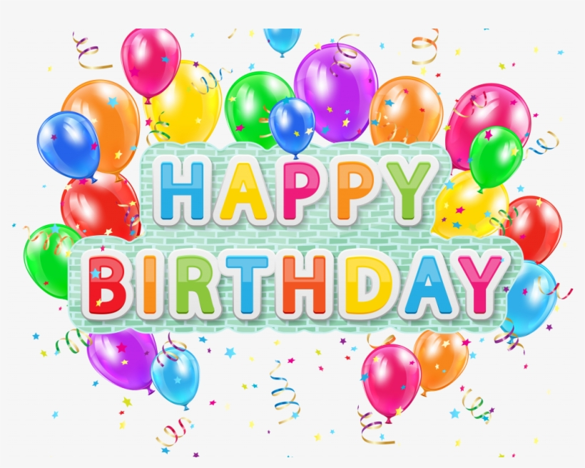 Download Happy Birthday Clipart For Her Background Happy Birthday Png Free Transparent Png Download Pngkey