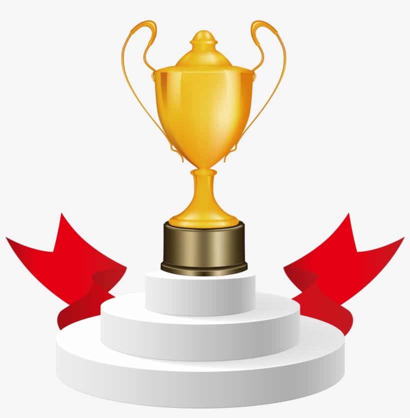 Trophy Cup Award Clip Art - Clip Art Cup Award, transparent png #9580488