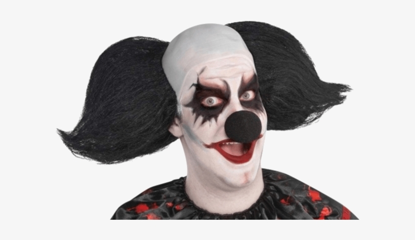 Adult Black Clown Nose - Adults Scary Halloween Costume, transparent png #9590505