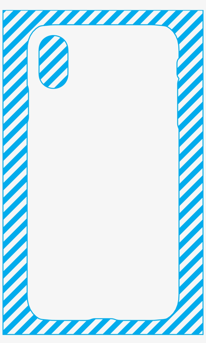 Galaxy S6 - Iphone 8 Plus Case Template, transparent png #9590880