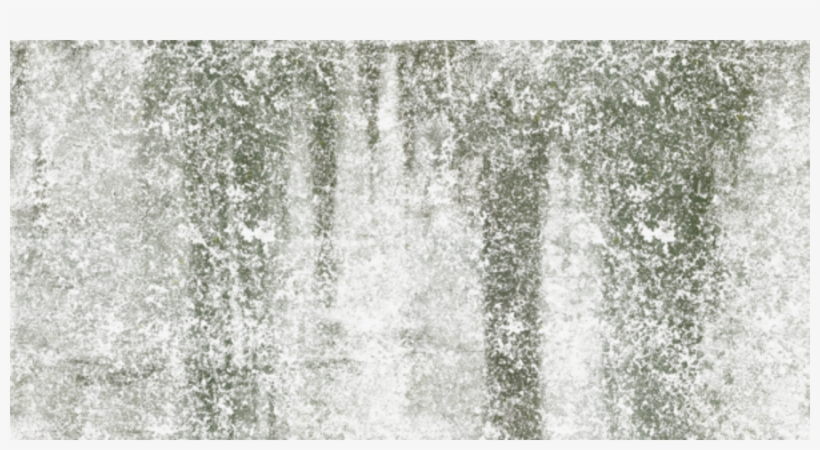 Grunge Drips Mossy Overlay - Concrete, transparent png #9592848