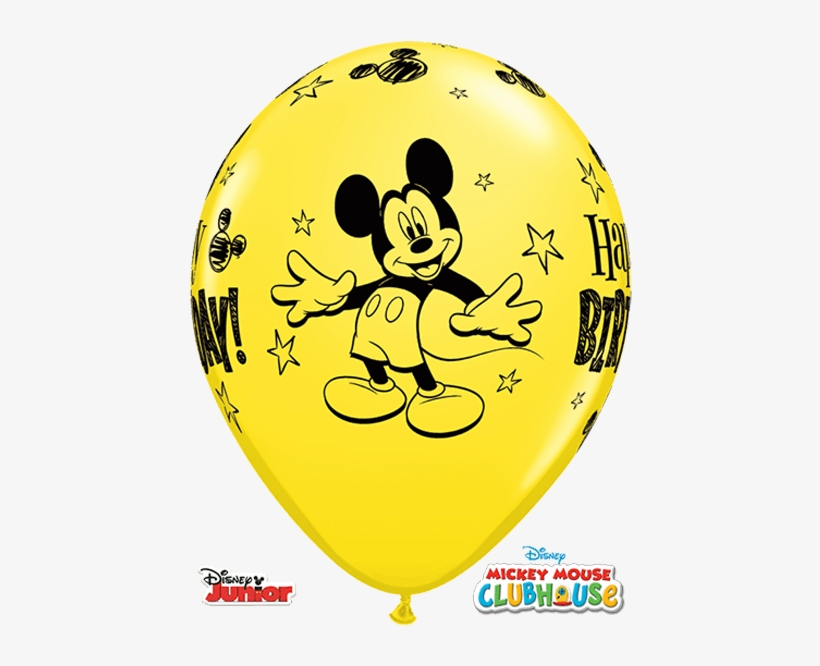 Prev - Disney Mickey On The Go Latex Balloons, transparent png #9593278