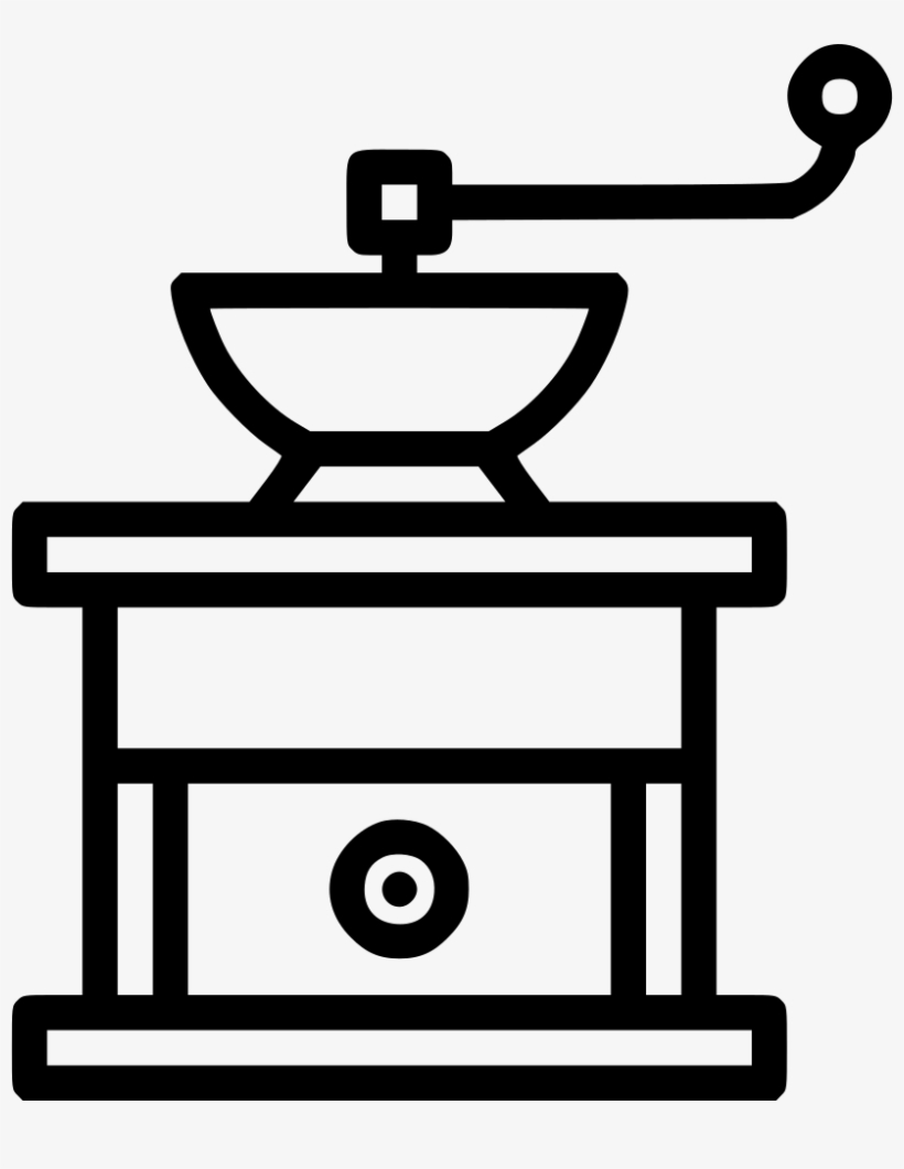 Coffee Beans Grain Mill Appliance Utility Svg Png Icon - Brick Wall Png Vector, transparent png #9595216