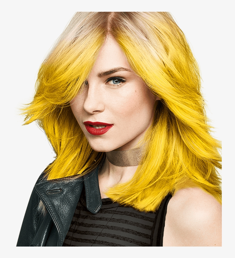 From Bright And Bold Yellows To Subtle Lemon Lifts, - Yellow Hair Colour, transparent png #9599337
