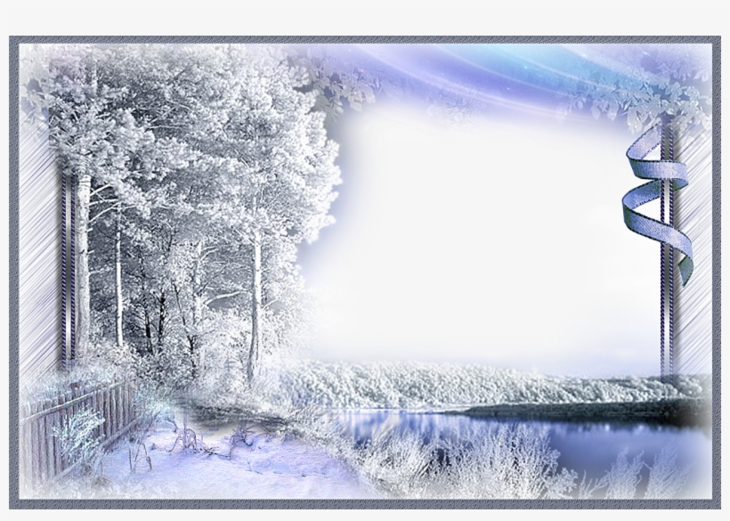 All I Want For Christmas Is You - Frames Winter Snow Png, transparent png #960345