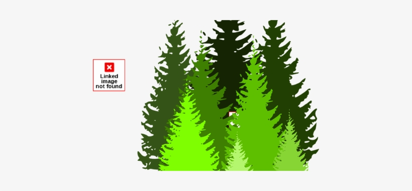 Vector Transparent Download Pine Tree Line K Pictures - Pine Trees Clip Art, transparent png #961500