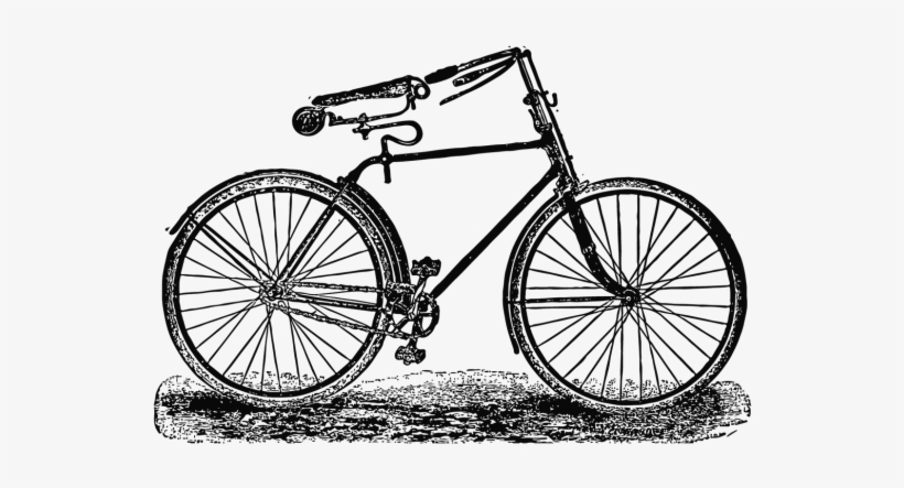 Vintage Cycle-017 By Onedollarshop - Parts Of A Bicycle Wheel, transparent png #962311