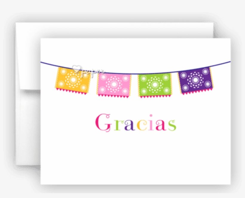 Fiesta Banner Thank You Cards Note Card Stationery - Cherry Thank You Card, transparent png #962724