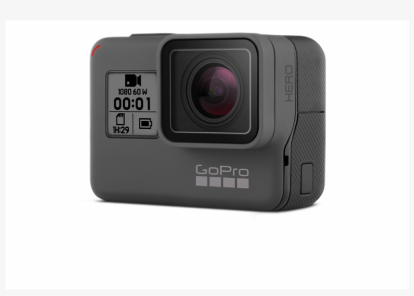 Dslr Drawing Gopro Camera - Gopro Chdhx-601-rw Hero 6 Sports, transparent png #966406