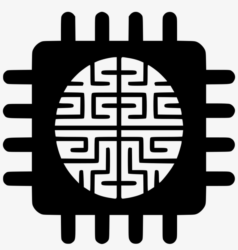 Artificial Intelligence Machine Learning Icon Transparent Free