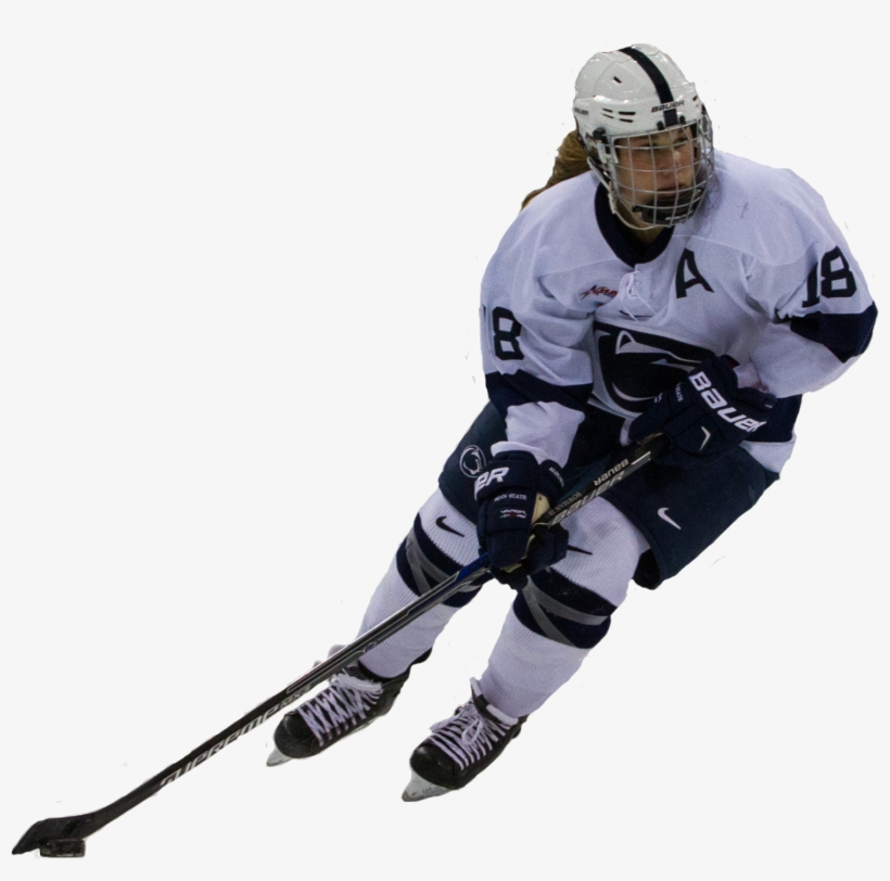 Hockey Cutout - Womens Hockey Player Png, transparent png #968128