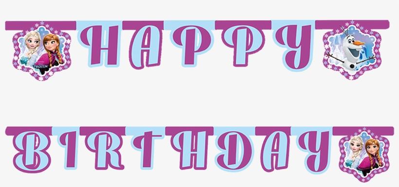 Frozen Happy Birthday Banner Frozen Happy Birthday Text Free