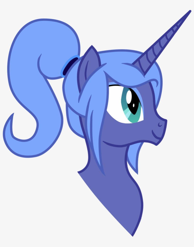 Pony Princess Luna Mammal Fictional Character Vertebrate - My Little Pony Ponytail, transparent png #9603333