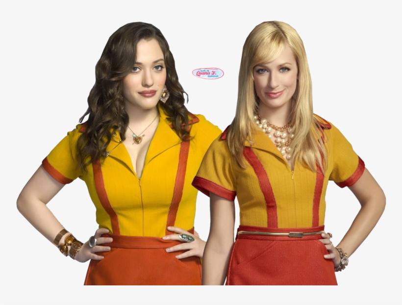 2 Broke Girls Png - 2 Broke Girls Season 7, transparent png #9621486