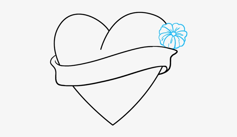 """How To Draw """"i Love You"""" Heart - Love You Heart Draw, transparent png #9629293"""