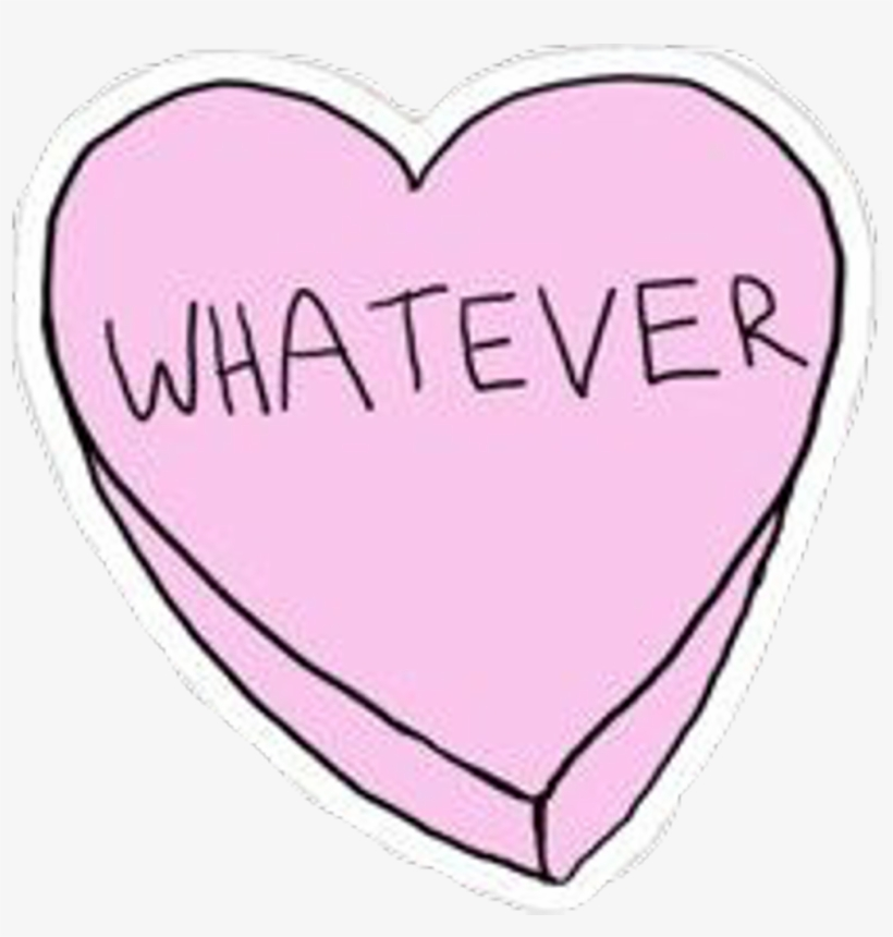 Whatever Heart Hearts Drawing Tumblr Tumblrs Sticker Escudo