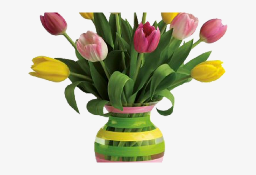 Flowers In Vase Clip Art Gallery - Flowers With Vase Png, transparent png #9629508
