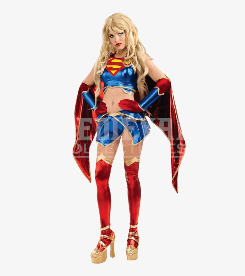Dc Comics Ame Comi Supergirl Costume - Supergirl Costume Adult Girls, transparent png #9630832