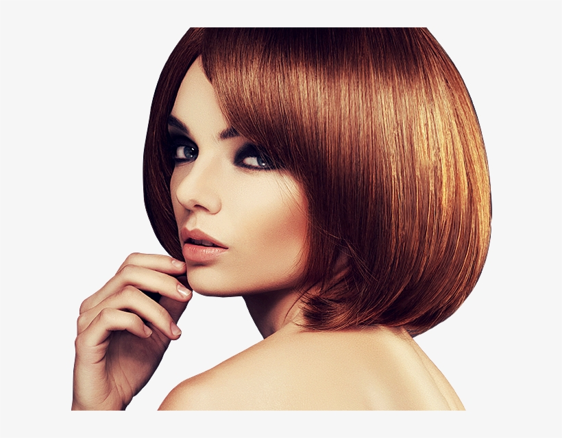 Beauty Parlour Hairstyle Hairdresser Hair Coloring Woman Hair Salon Free Transparent Png Download Pngkey