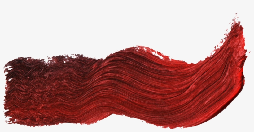 40 Paint Brush Stroke Vol - Red Hair, transparent png #9635666