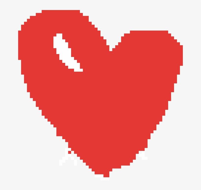 Minecraft Heart - Heart, transparent png #9636251