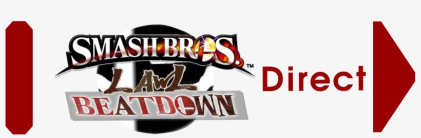 Beatdown Direct Logo - Super Smash Bros. For Nintendo 3ds And Wii U, transparent png #9640212